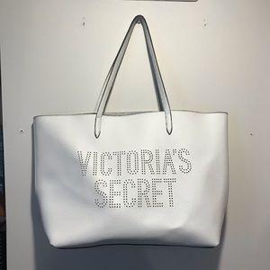 Victoria Secret White Tote Bag